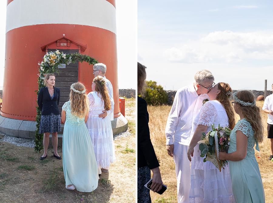 Bröllopsfotografering med Lisbet Spörndly i Uppsala