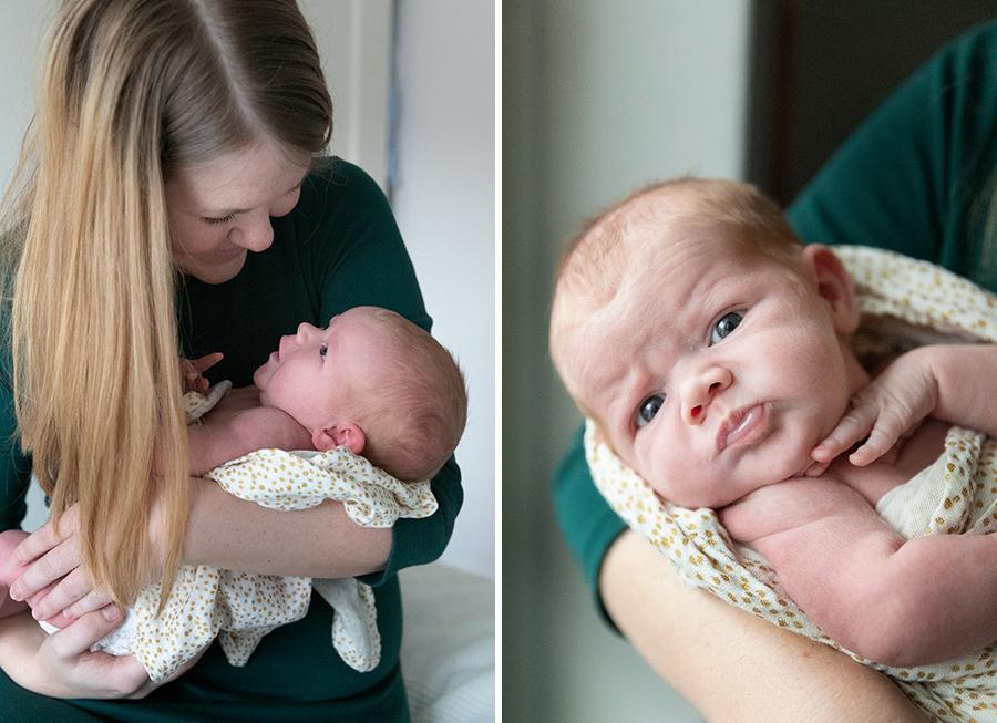Nyföddfotografering i Uppsala med fotograf Lisbet Spörndly