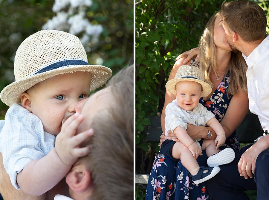 Familjefotografering i Uppsala hos fotograf Lisbet Spörndly