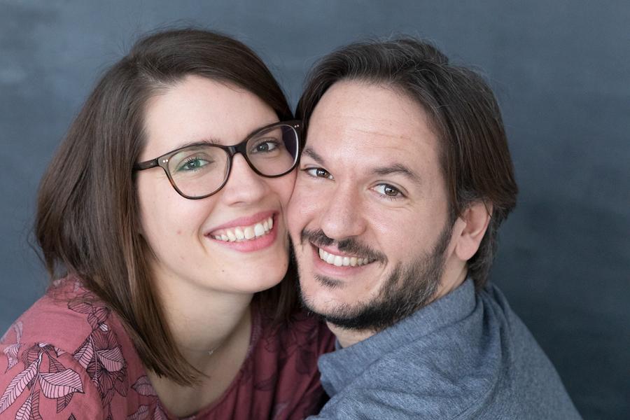 Förlovningsbild hos fotograf Lisbet Spörndly i Uppsala
