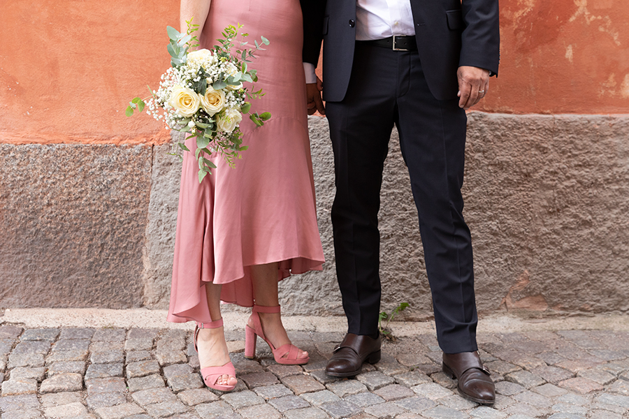 Bröllopsfotografering i Uppsala med fotograf Lisbet Spörndly