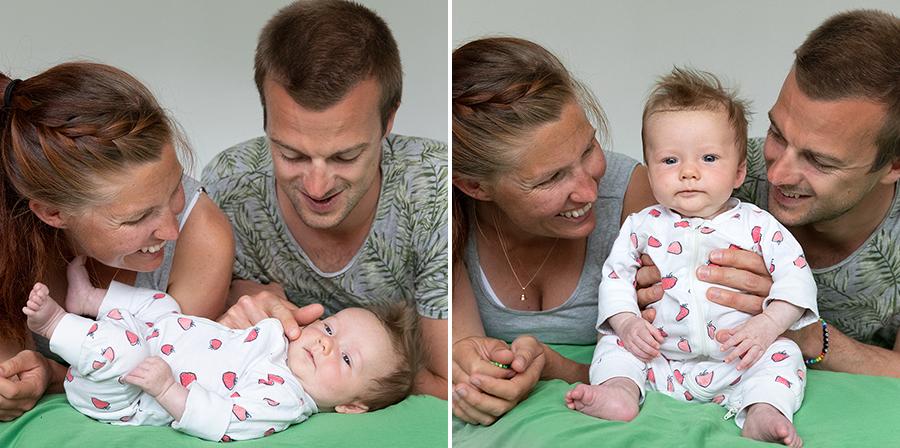 Bebisfotografering i Uppsala med fotograf Lisbet Spörndly