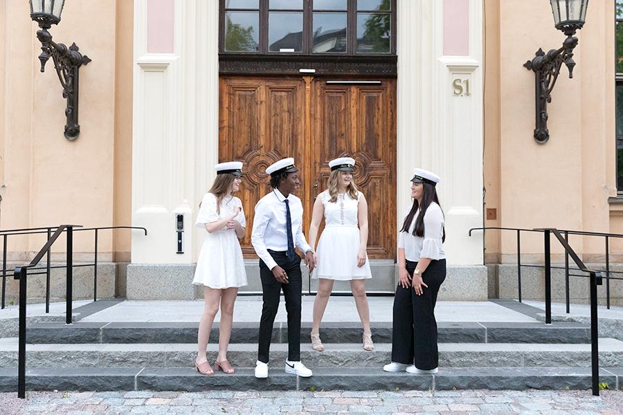 Studentfotografering i Uppsala med fotograf Lisbet Spörndly